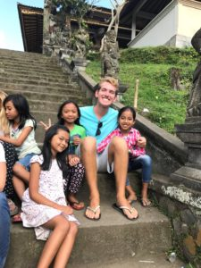 Taylor Sofonia with kids