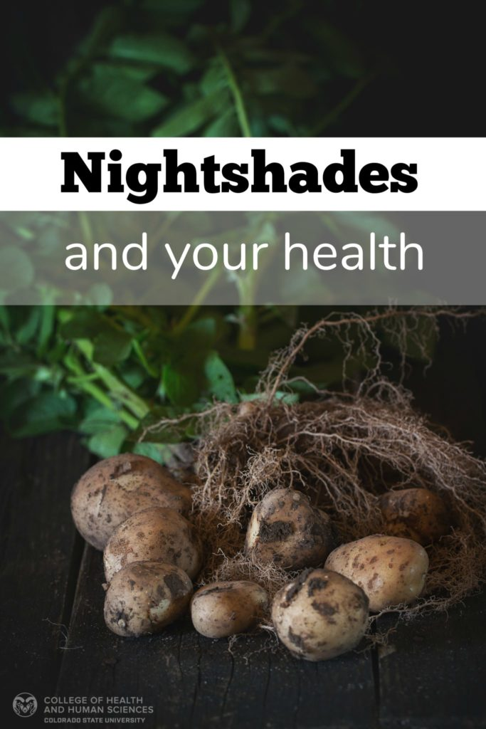 Nightshades and your health graphic