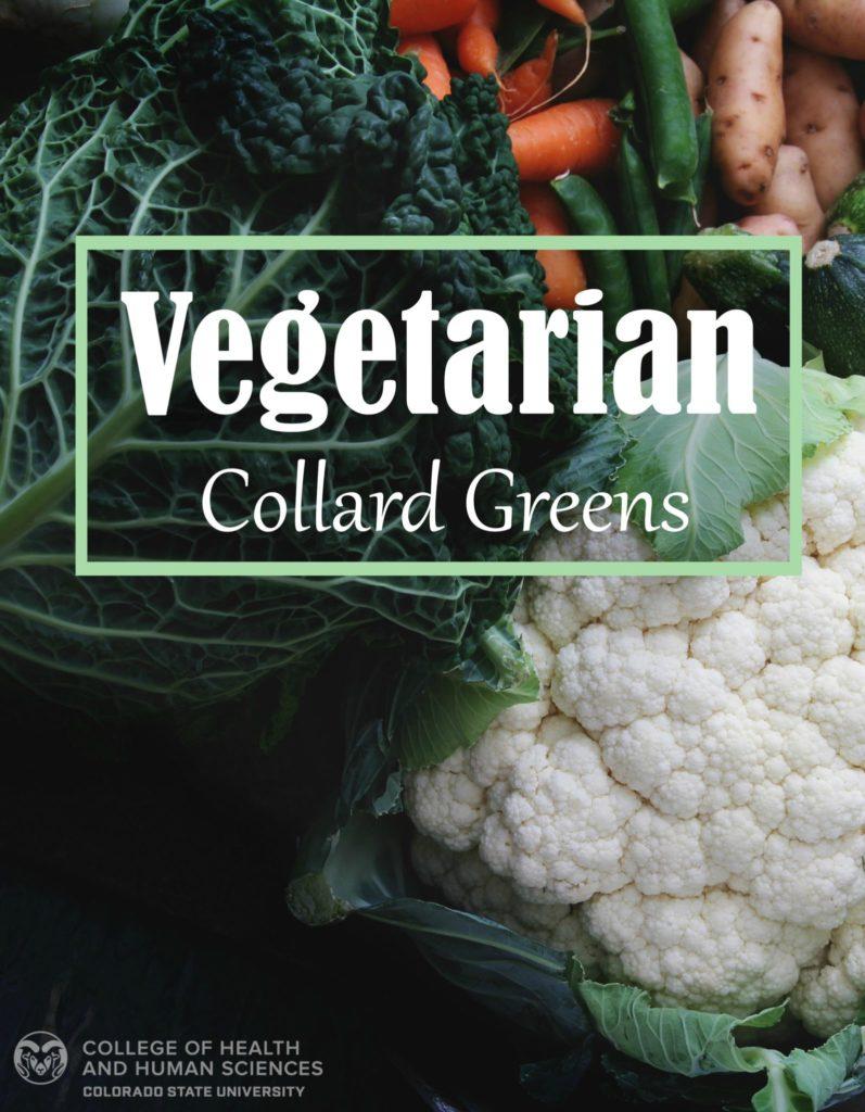 Graphic of Vegetarian Collard Greens