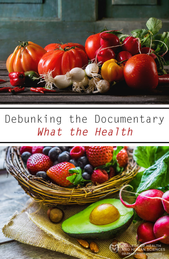 Debunking the documentary what the health graphic