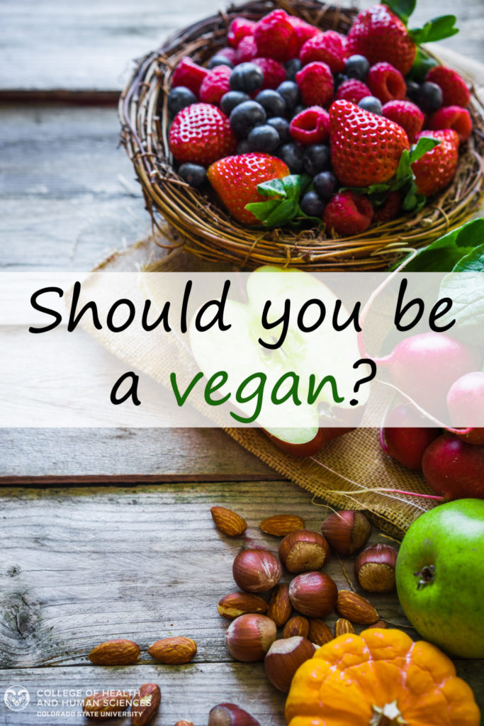 should you be a vegan graphic