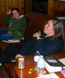 Principals in discussion