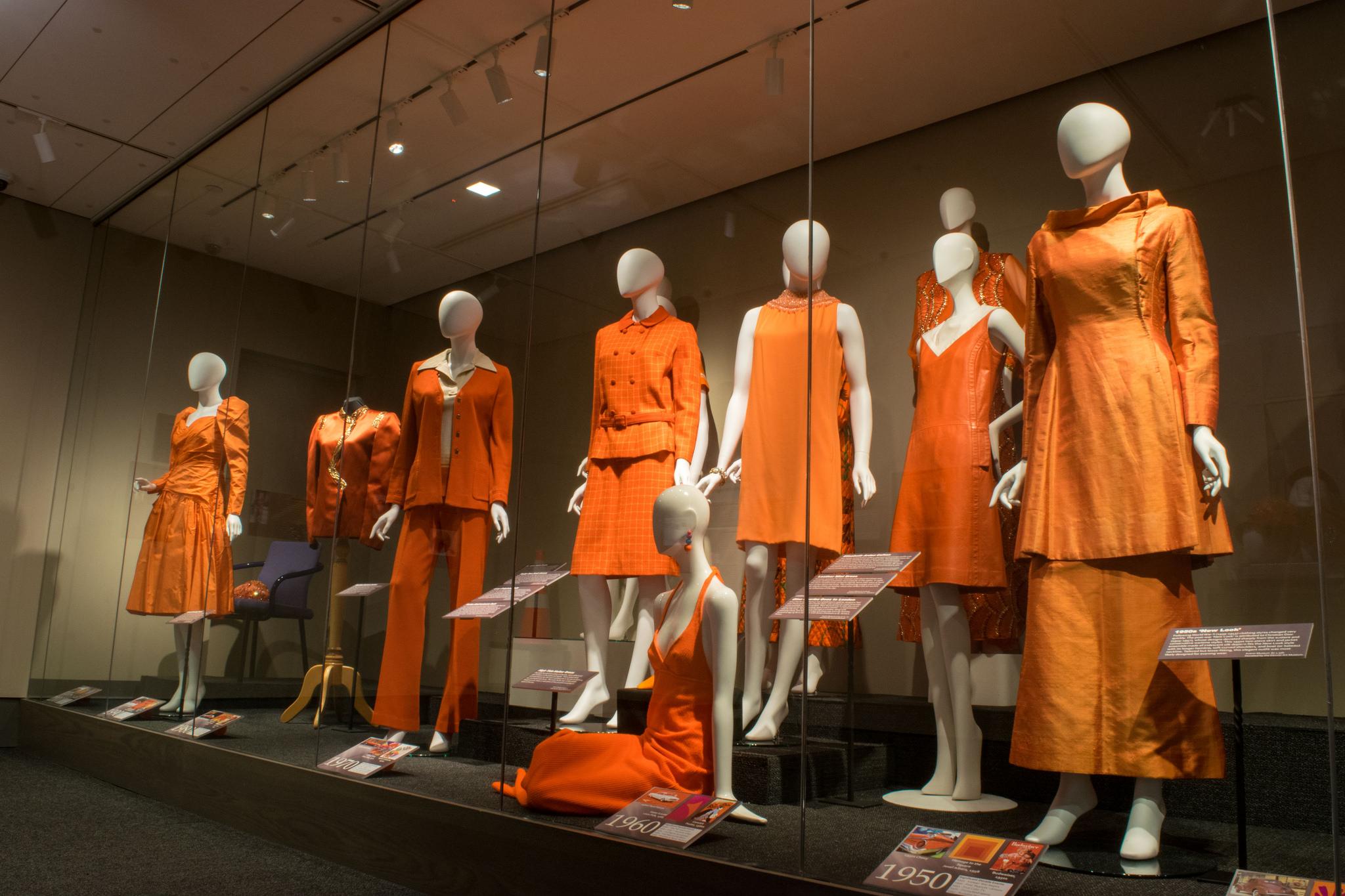 Orange apparel