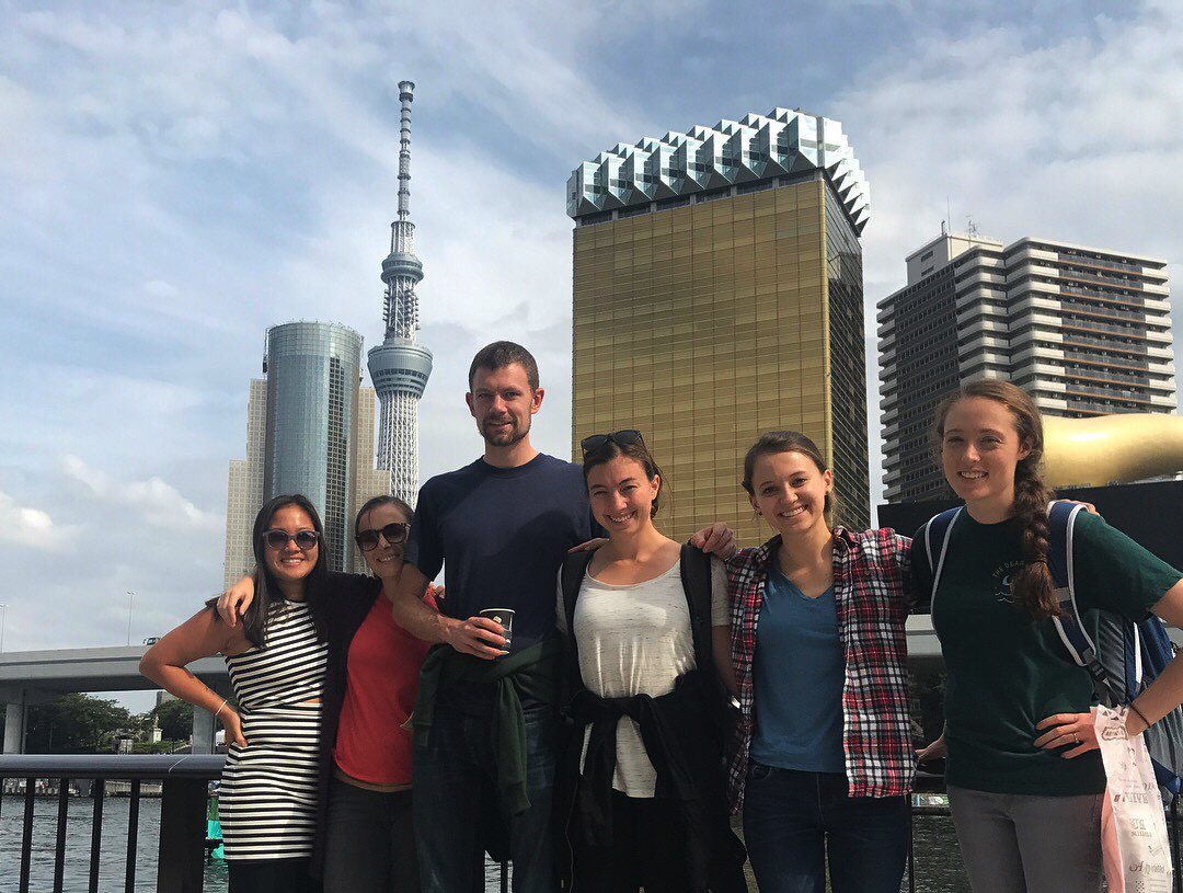 CSU Students in Japan