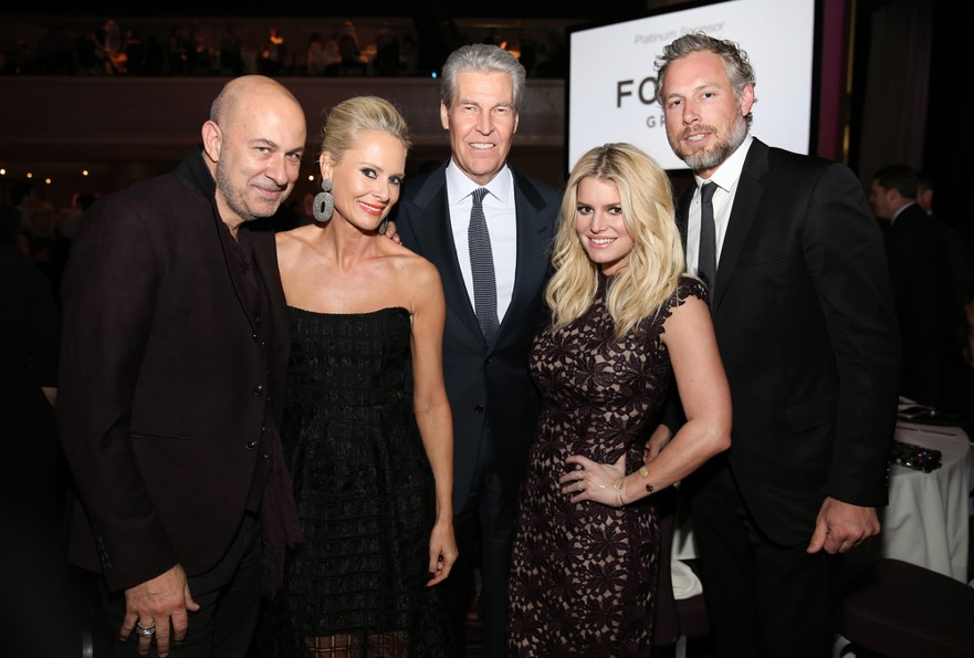 Jessica Simpson at Fashion Scholarship Fund event