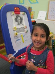Little girl at RKV