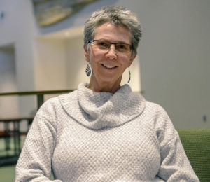 Karen Morris-Fine, a CSU alumna and donor to the Department of Food Science and Human Nutrition