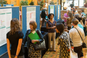 Poster show at conference
