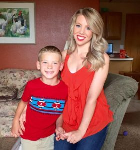 Brittany and her son Bryson