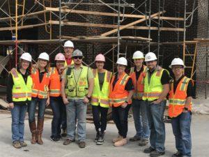 Construction crew group photo