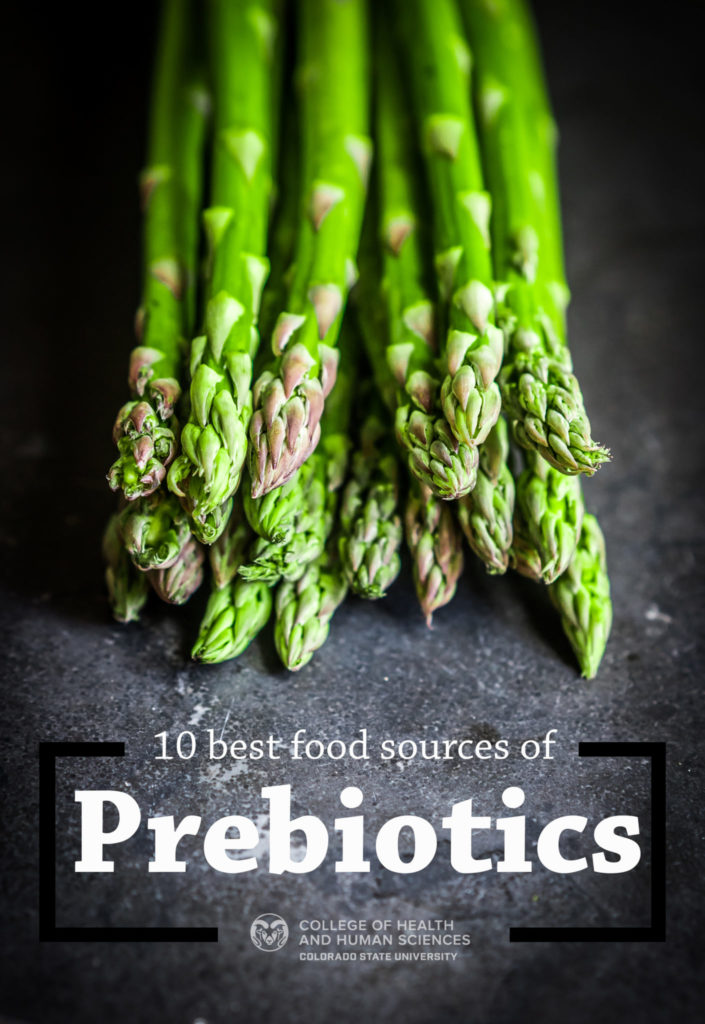 10 best food sources of prebiotics graphic
