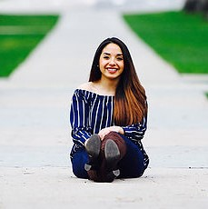 Alondra Sarmiento on the CSU Oval