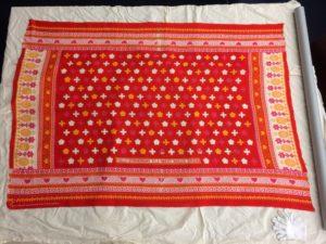 Red colored Khanga cloth