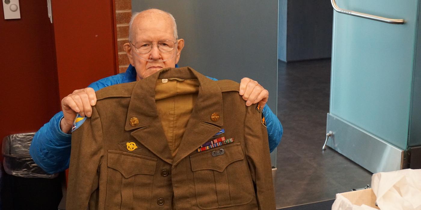Jim Ingram with uniform