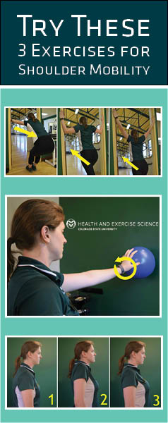 3 Exercises for Shoulder Mobility