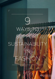 9 Ways to Support Sustainability in Fashion