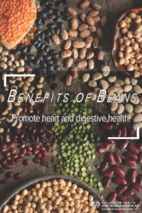 Benefits of beans - promote heart and digestive health