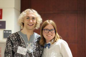 DL Lundberg and Sarah Bibbey