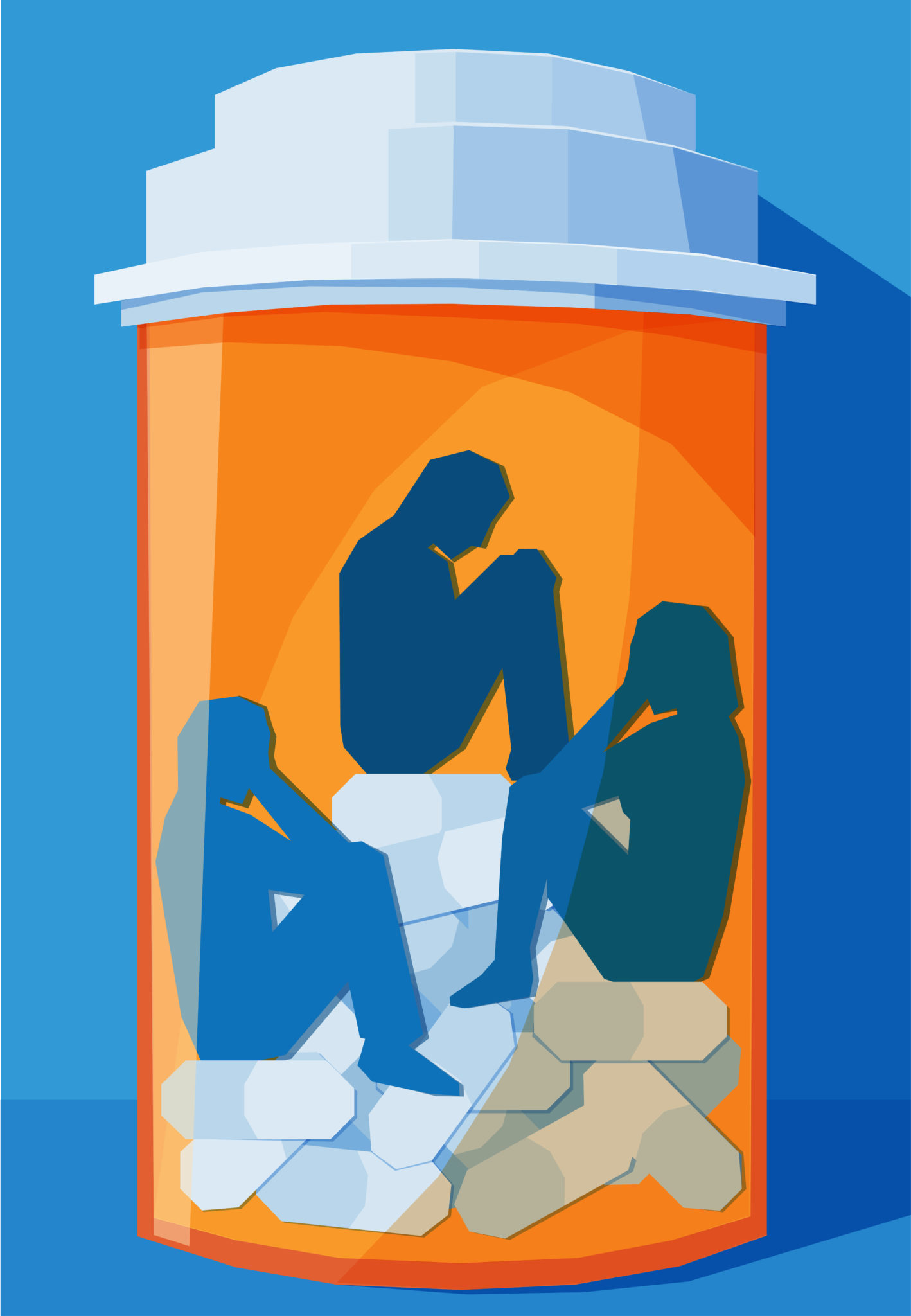 Illustration of prescription bottle