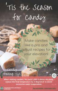 Baking tips poster