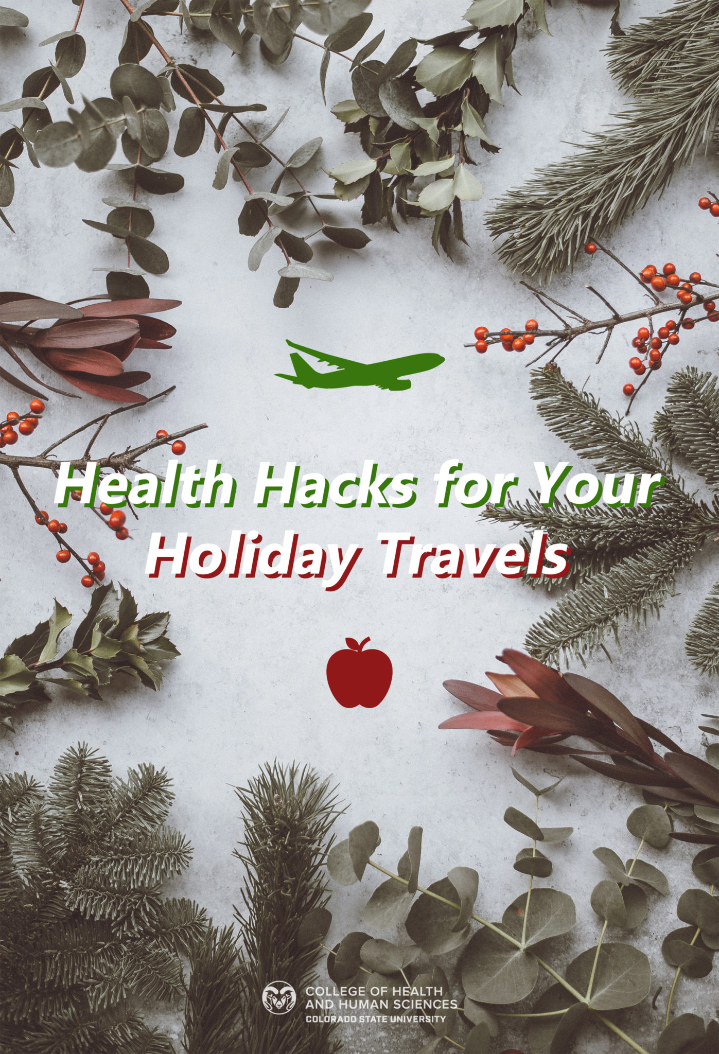 Health hacks for your holiday travels.