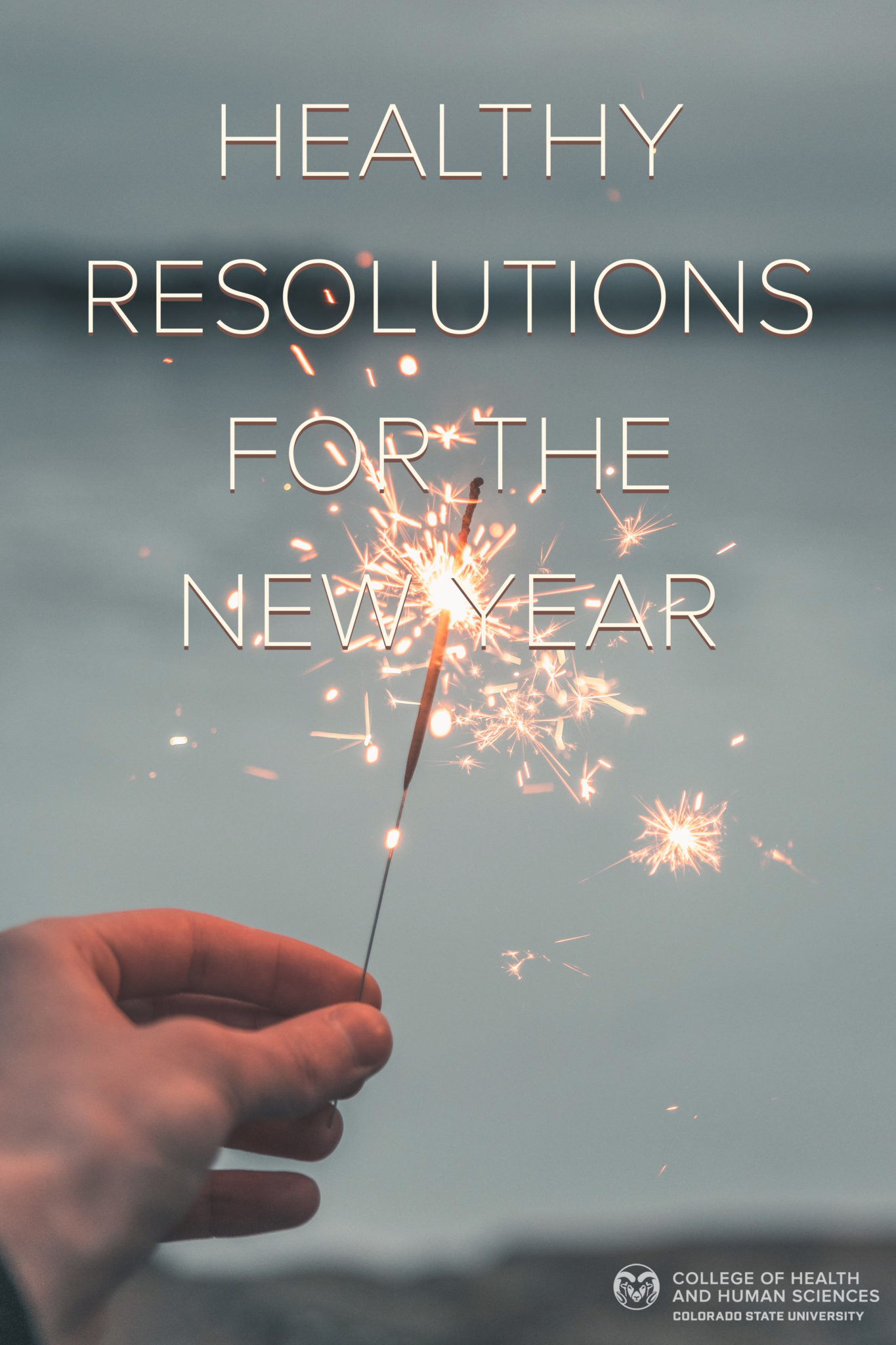 Tips for healthy new year's resolutions.
