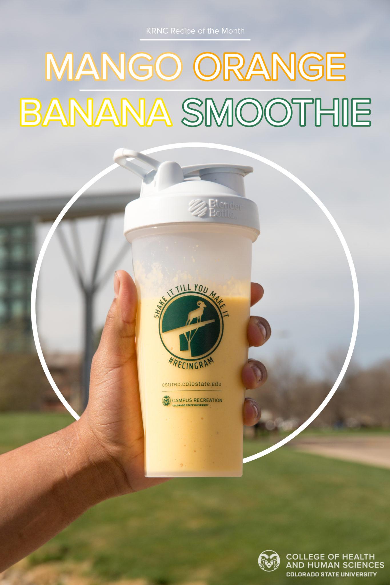 Mango orange banana smoothie recipe