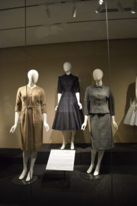 Dior look suits and dresses from the Avenir Museum of Design and Merchandising collection