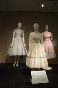 Dior look debutante dresses from the Avenir Museum of Design and Merchandising collection