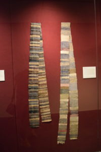 Japanese sashes from the Avenir Museum of Design and Merchandising collection