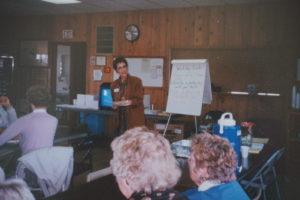 Laurel Kubin teaching