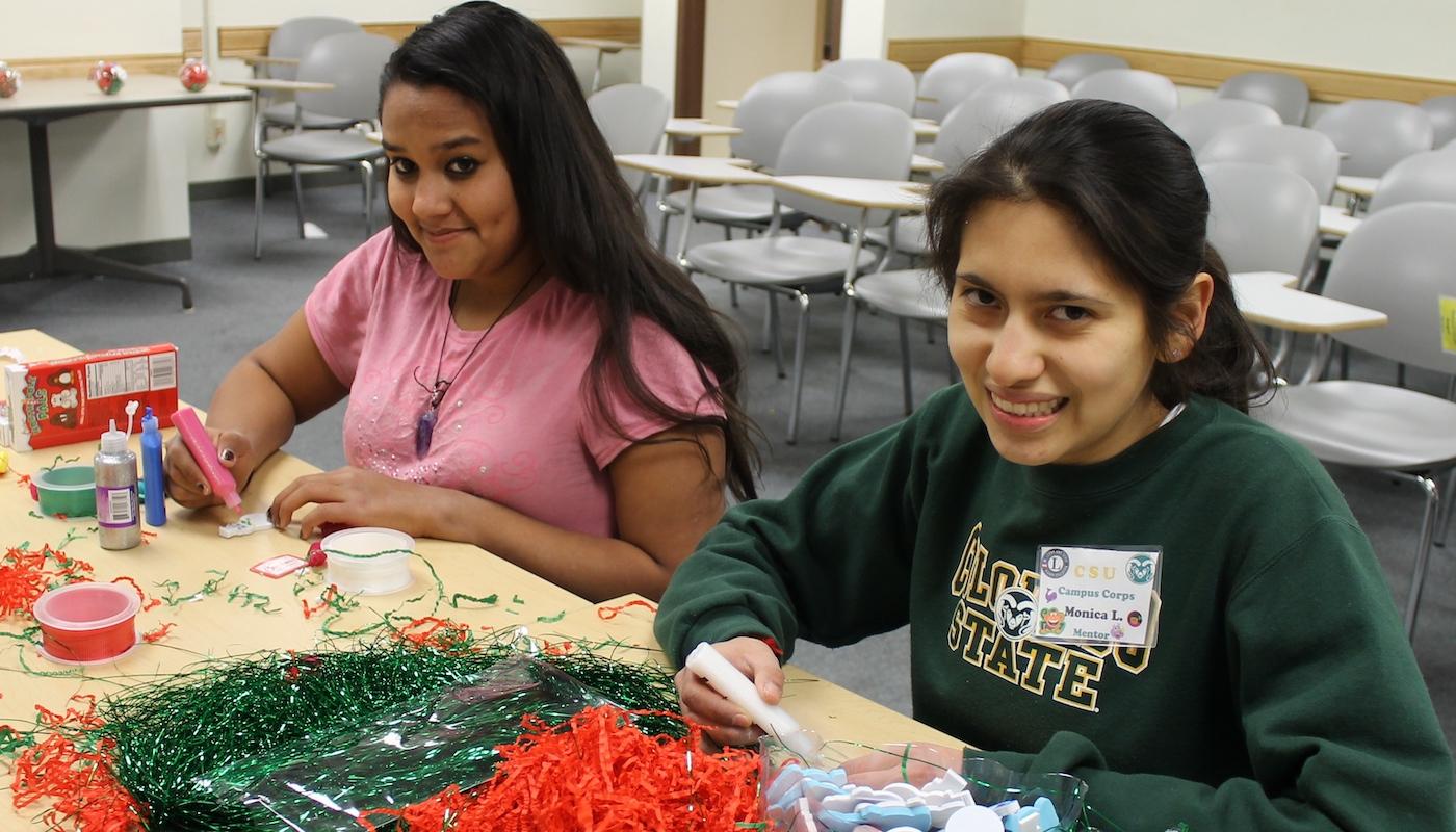 Campus Connections participants