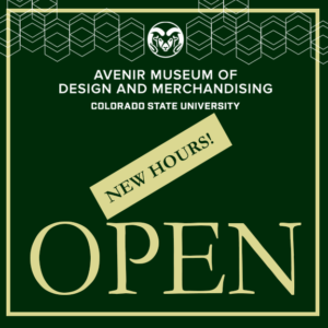 decorative image with new open hours for the museum