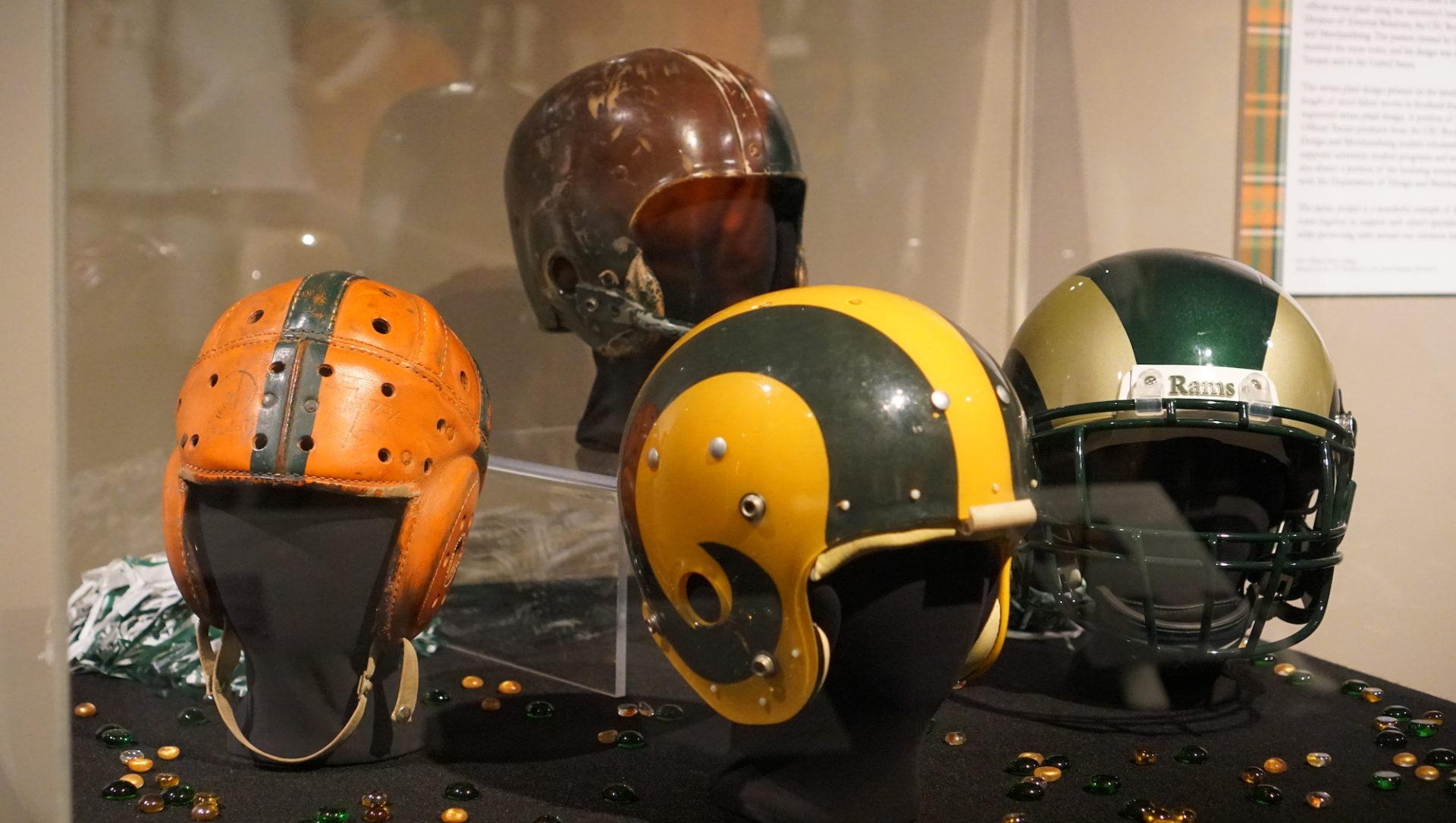 CSU helmets