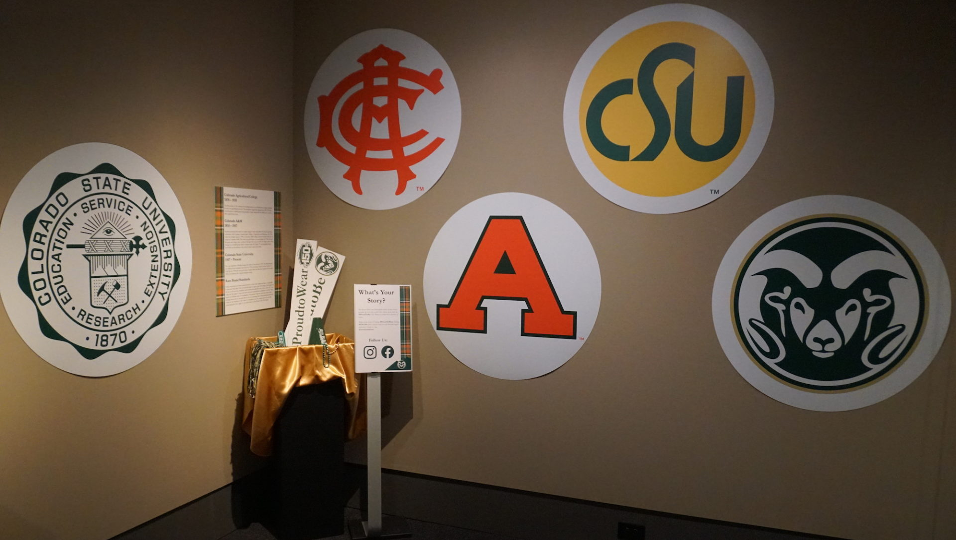 CSU logos over the years