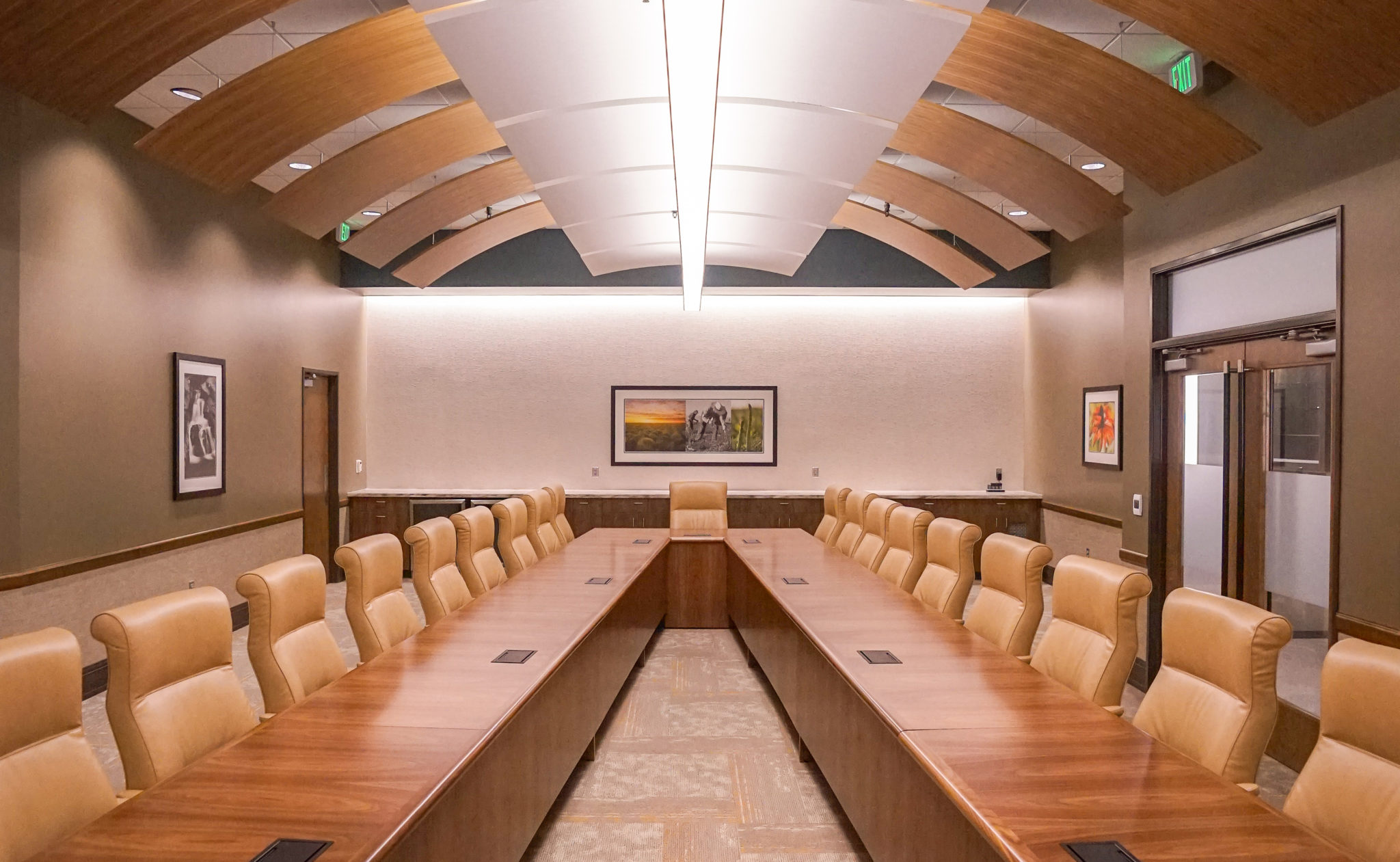 Interior Design Alumna Flexes Creative Muscles On Commercial Design