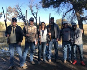6 member clay shoot team
