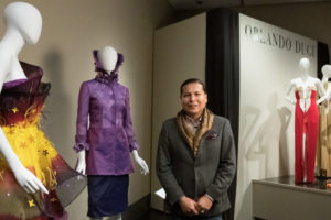 Orlando Dugi and Purple Jacket Purchased for the Avenir Museum's permanent collection.