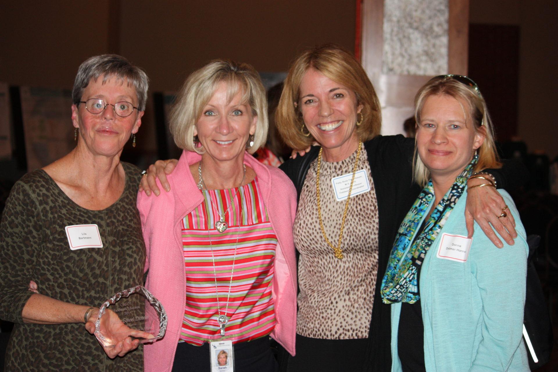 Patty Stutz-Tanenbaum with fieldwork educators