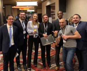 Construction management team at a competition in Reno, Nevada.