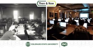 Then and Now in Precon classroom 201