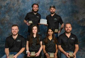 CM's ASC Virtual Design Team with 1st Place Awards