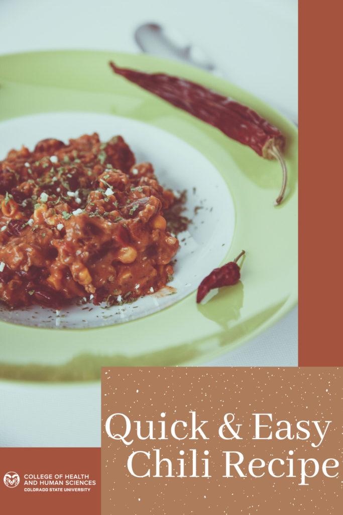 Quick & Easy Chili Recipe