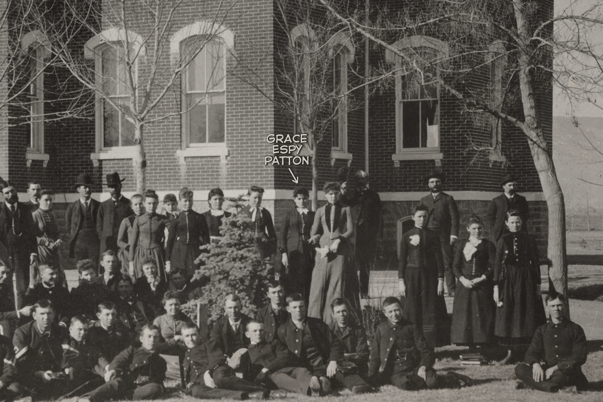 GEP 1886 With Students And Faculty