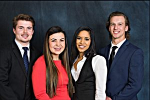 MacKenzie with other 3 serving on CM student board of directors