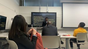 Manideep Presenting at CRC Conference