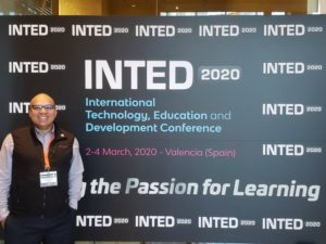 Rodolfo Valdes-Vaquez at INTED Conference