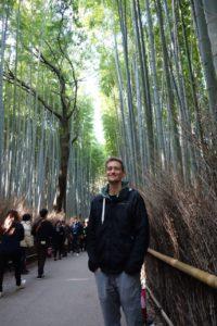 Kieran Abbotts photo in a tree enclosure