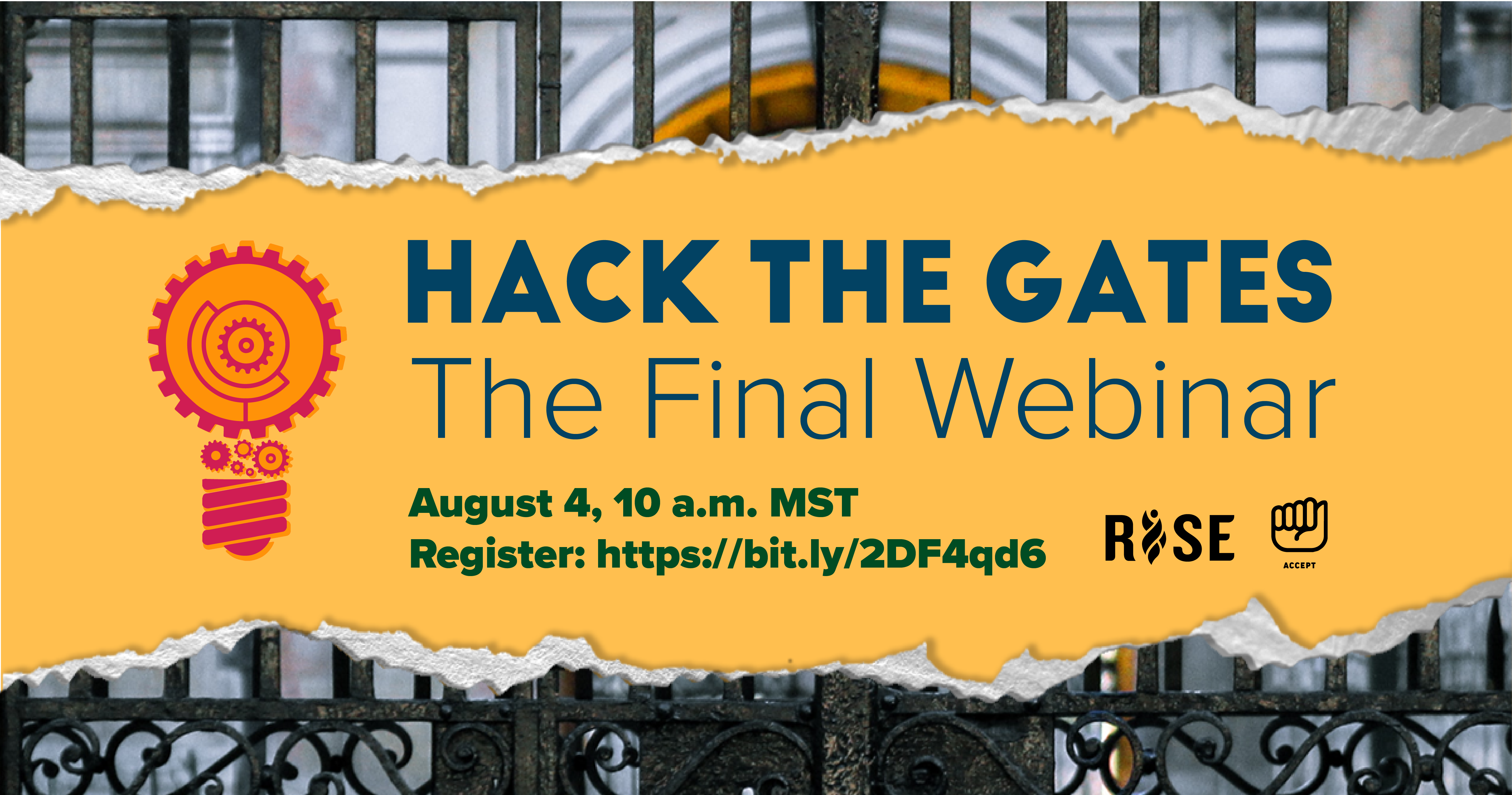 Hack the Gates graphic