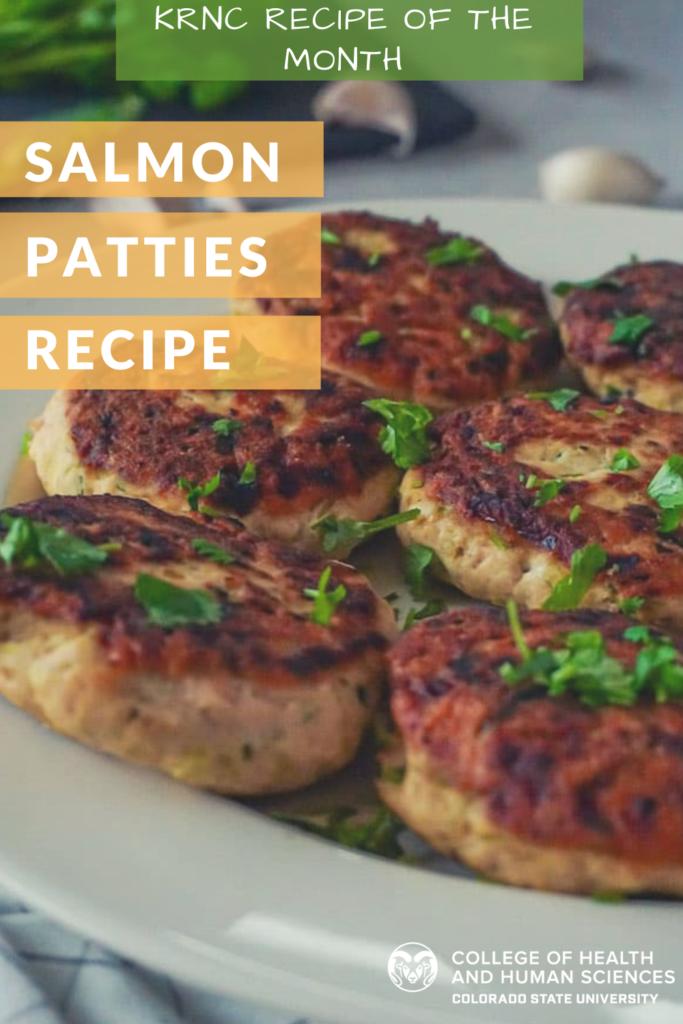 Salmon patties recipe.